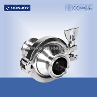 China SS316L 2.5 Inch Hydraulic Check Valves Middle Clamp Type Non Retention wholesale