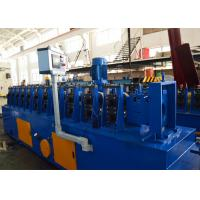 China 1.5-2.0mm Galvanized Steel Upright Angle Roll Forming Machine 5-10m / Min Speed wholesale