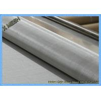 """China 200mesh Plain Weave 304 Alloy Stainless Steel Screen Roll  48""""X100"""" Anti Corrosion wholesale"""