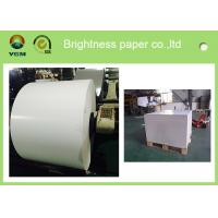 China Jumbo Roll Blister Board Paper Large White Cardboard Moisture Proof wholesale