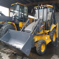 China 7.3T Heavy Earth Moving Machinery , Backhoe Loader WZ30-25  With 0.3m Digger Capacity on sale