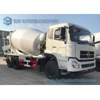 China 4M3 Dongfeng Concrete Mixer Truck  3 - 7cubic Cement With Opitional Colors wholesale