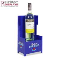 China Sales Promotion Wooden And Acrylic Wine Shop Counter Table Design Display Rack For Store on sale