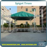 China Large event truss/spigot truss with aluminum stage/stage truss system/roof truss for tv show /performance stage truss on sale