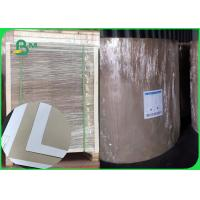 China Size 1160mm 1300mm White Carboard With Grey Back Thickness 450gsm In Roll wholesale