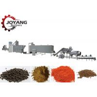 China Aquaculture Fish Feed Production Line Floating Fish Feed Manufacturing Machinery wholesale