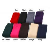 China Europe Winter seamless solid color adjusting length pantyhose knitted booties leggings wholesale