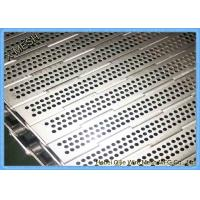 China Stainless Steel 316L Chain Plate Metal Conveyor Belt wholesale