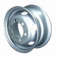China Steel wheel rim, customized sizes are accepted, various colors are available wholesale