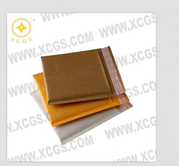 Quality Metallic Foil Bubble Mailing Bags / Kraft Bubble Lined Envelopes for sale