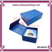 China Specialized Hi-Wall blue color coated paper gift box with magnetic closure wholesale