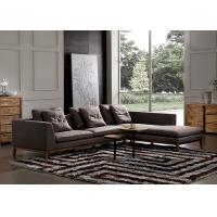 China Customized Fabric Sectional Sofas Strong Legs Eco Material Easy To Maintain wholesale