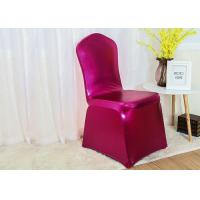 China Universal Chair Covers And Sashes Hoods Perfect Fit Machine Washable wholesale