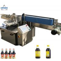 China CE Standard Wine Wet Glue Labeling Machine 60-200pcs/Min Labeling Speed wholesale