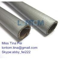 China Heat Reflect Silicone Flex Glass Sleeving wholesale