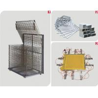 China Pneumatic Mesh Automatic Screen Printing Press , Silk Screen Printing Equipment One Year Warranty wholesale