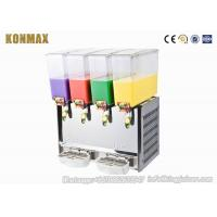 China 4 Tanks Cooling and Mixing Beverage Cold Drink Dispenser Machine wholesale