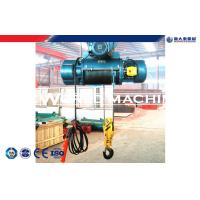Quality Electric Wire Rope Hoist with Remote Control Small electric chain pulley block Hoist for sale