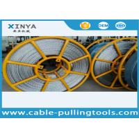 China ISO 22 mm Breakage Tension 320 kN Anti twist Wire Rope Galvanized Steel High Voltage Line Stringing wholesale