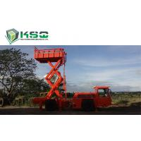 Buy cheap Underground Service Vechicles 1 Ton Scissor Lift Truck for Underground Mining or from wholesalers