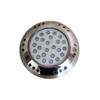 Buy cheap 12VDC Surface Mounted LED Swimming Pool Light 54 Watt 3 Years Warranty from wholesalers