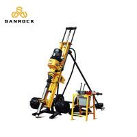 China Small Dth Drilling Machine Pneumatic Mining Drilling Rig Machine With Air Compressor on sale
