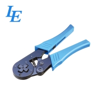 China LE-8164 Cushion Handles 210mm Ethernet Cable Crimping Tool on sale