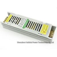 China Narrow Slim LED Light Power Supply 12v 150w With CE / ROHS Certificate wholesale