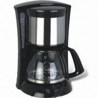 China Electric Coffee Maker with Swing Filter Holder and Water Level Indicator on sale