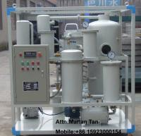 China Gear Oil/Hydraulic Oil Vacuum Oil Filtration Equipment on sale