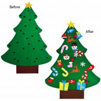 China Detachable Ornaments Handcrafted Christmas Decorations , Christmas Crafts For Kids on sale