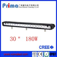 "China 30"" 180W Cree Led Light Bar! Single Row Light Bar for Jeep SUV 4X4 wholesale"