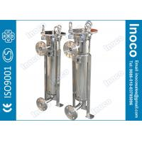 China BOCIN High Pressure Single Bag Filter Housing Stainless Steel With PE Filter Bag wholesale