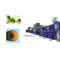 China Twin-wall corrugated pipe extrusion line wholesale