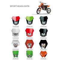 China Various Colors Led Motorcycle Driving Lights , Led Motorcycle Headlight New ABS Material wholesale