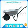 China Tubular Steel Axle Heavy Duty Galvanised Wheelbarrow5CBF Sand Capacity Wb6414t wholesale
