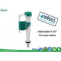 China WRAS Universal Toilet Fill Valve Repair , Cistern Bottom Entry Float Valve Replacement wholesale
