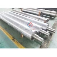 Quality Heavy Duty Steel Shaft Chrome Plated Rollers Corrosion resistance Industrial for sale