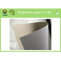 China Offset Printable white carton board with grey back Sheets , Full Gsm Gift Boxes Cardboard wholesale