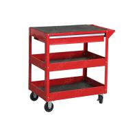 China Easy Assemble 1 Drawer Rolling Mechanics Tool Cart Knock Down Construction wholesale