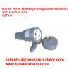 China marine electrical three-pin male   CZF2-1 waterproof marine socket and switch wholesale