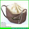 China LDZS-015 girls handbag paper straw crochet beach shoulder bag wholesale