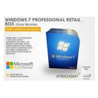 China DirectX 9 Windows 7 Professional Retail Box 64 Bit COA License Key DVD Genuine wholesale