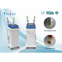 Quality Best quality high frequency portable micro needling acne scars removal machine for spa use for sale