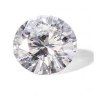 China DEF Super White Diamond Moissanite 13mm Round Brilliant Diamond Cut 8.5ct VVS wholesale