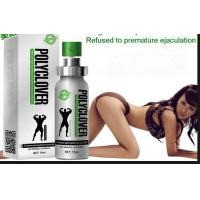 China Polyclover Male Sex Delay Spray Male Enhancement Cream With GMP Certification wholesale