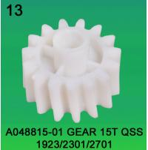 China A048815-01 GEAR TEETH-15 FOR NORITSU qss1923/2301/2701 minilab wholesale