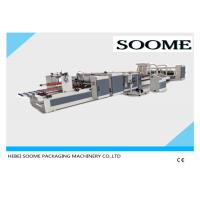 China Automatic High Speed Stitching Folder Gluing Machine For Corrugated Paper Box wholesale