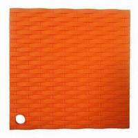 China Silicone Pot Holders, Place Mat, Available in Various Colors wholesale