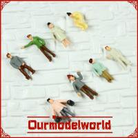 China Hobby Shop Model Railway People Painting Model Figures Ground Cover Materials wholesale